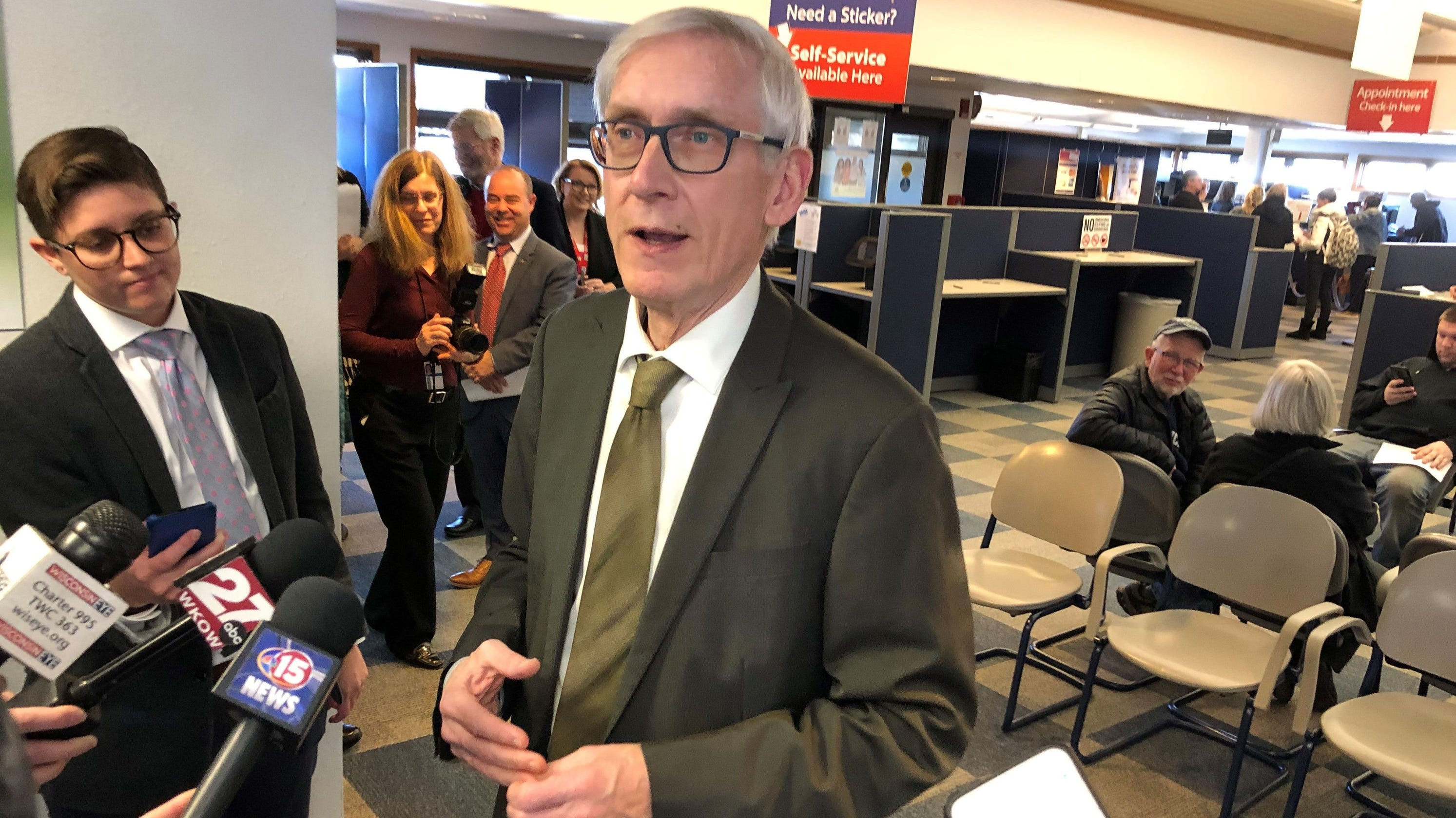 Foxconn must meet job creation goals to get subsidies. Tony Evers says maybe those goals are too high. - Milwaukee Journal Sentinel