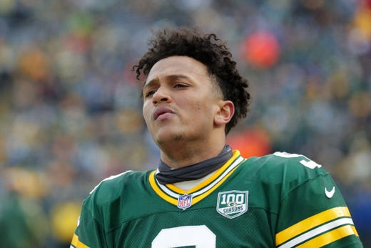 premium selection eea41 98207 Packers' Tim Boyle, DeShone Kizer to vie for backup ...
