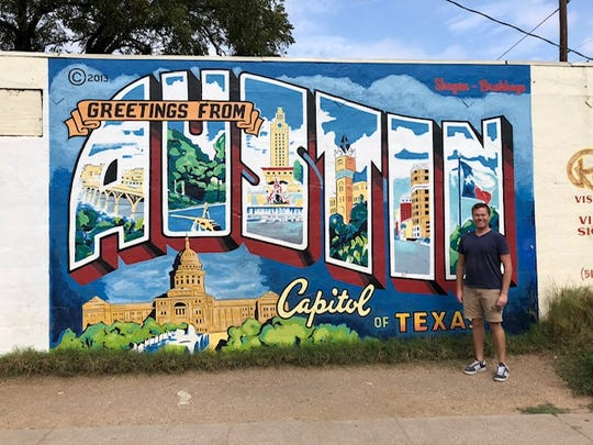 Wauwatosa Alderman Joel Tilleson was on a business trip to Austin, Texas, when he heard about a colorful mural on the side of building. There are now plans to bring murals to East Wauwatosa.