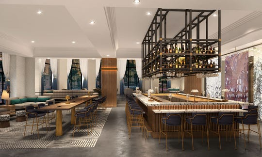 The Bar is one of the food and drink venues in the new Saint Kate hotel due this spring downtown. The hotel, opening at 139 E. Kilbourn Ave. in the former InterContinental, will have an all-day restaurant and a Neapolitan-style pizzeria, plus a Champagne bar.