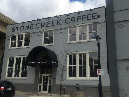 Stone Creek Coffee's Factory Cafe is near the Milwaukee Intermodal Station.