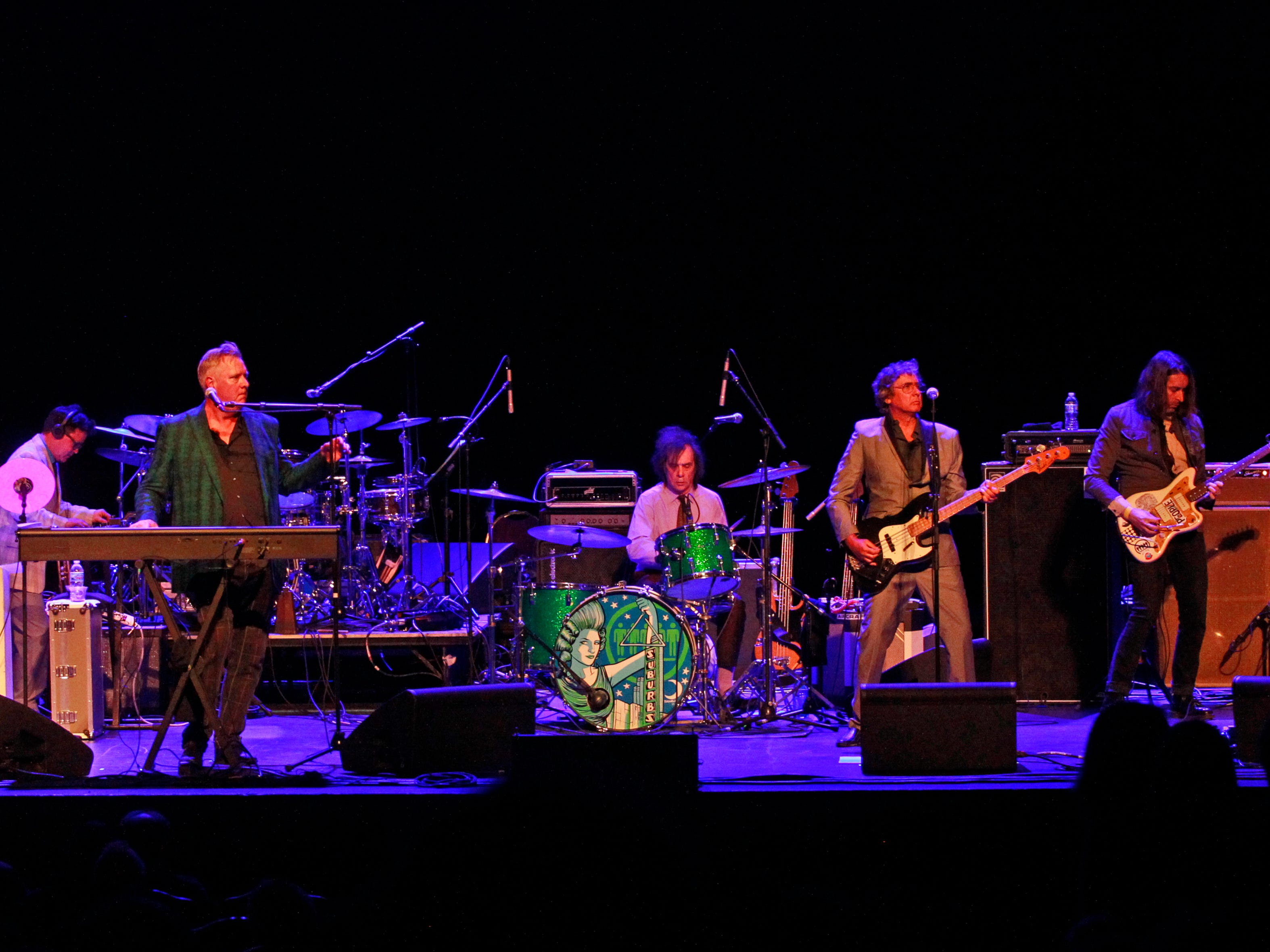 The Suburbs is the opening act for Mott The Hopple on Monday, April 1, 2019 at the Miller High Life Theatre in Milwaukee, Wi., Monday, April 1, 2019.