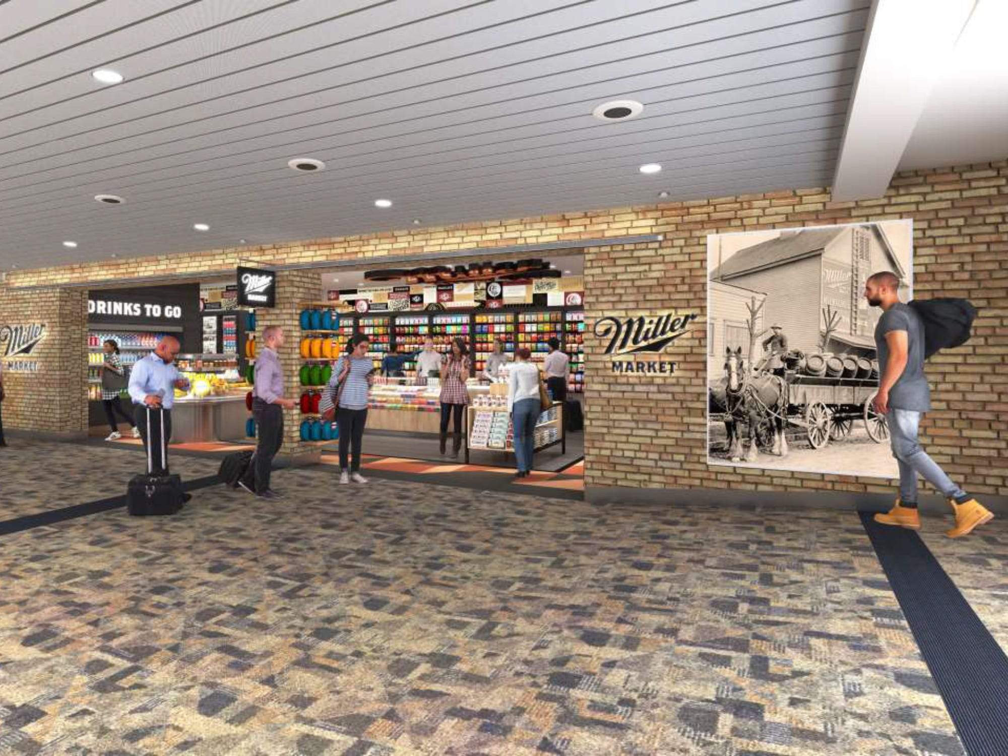 In all, 22 restaurants and retail shops will be remodeled or replaced by next year at Milwaukee Mitchell International Airport as part of a $7 million makeover. The project will be done in phases and will feature a mix of local and national brands at restaurants and storefronts throughout the airport.  All of the work is expected to be completed in time for the influx of visitors headed to Milwaukee for the 2020 Democratic National Convention. Milwaukee Mitchell is owned and operated by Milwaukee County.