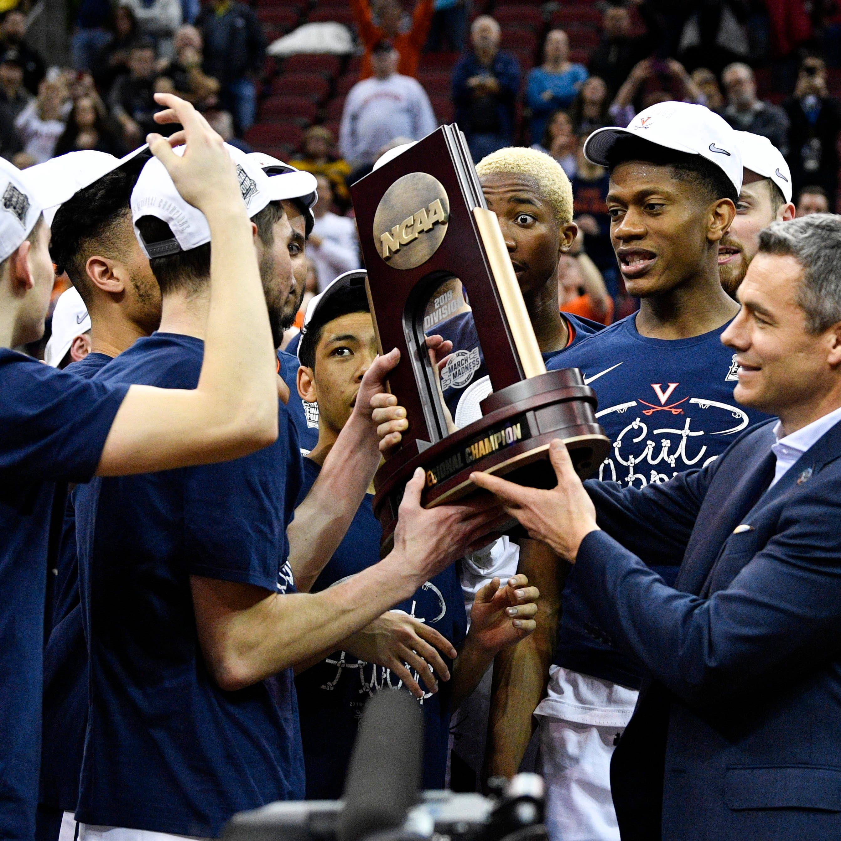 Bucks' Malcolm Brogdon revels in Virginia's NCAA title
