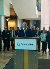 Gov. John Bel Edwards on Tuesday announced a deal to keep CenturyLink's headquarters in Louisiana.