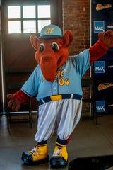 Montgomery Biscuits mascot Big Mo has slimmed down and is ready for action in 2019.