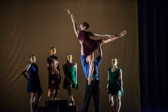 The Montgomery Ballet presents The Masks We Wear on Saturday at the Riverwalk Amphitheater in Montgomery.
