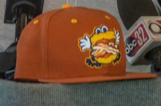 The Biscuits have a new bacon-themed hat for 2019.