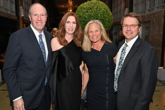 Bob and Julie Gordon, left, and Daphne and Alfred Rawls Butler attend the Frist Gala Patron Party at Frist Art Museum.