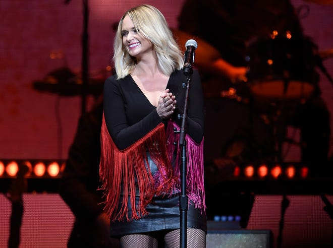 Miranda Lambert performs during the Loretta Lynn: An All-Star Birthday Celebration Concert at Bridgestone Arena Monday, April 1, 2019 in Nashville, Tenn.