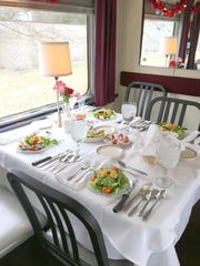 Enjoy a three-course meal on a two-hour trip back to a simpler but sumptuously satisfying time.