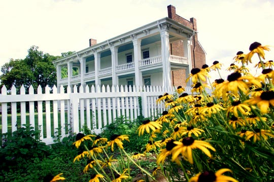 Now a peaceful reminder of Civil War history on July 24, 2002, the Carnton Plantation was the recipient of hundreds of wounded and dying confederate soldiers after the battle of Franklin.