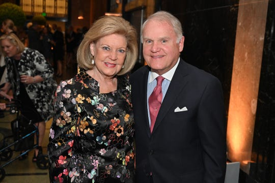 Carol and John Rochford attend the Frist Gala Patron Party at Frist Art Museum.