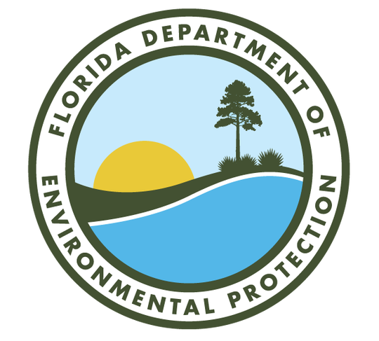 Florida Department of Environmental Protection logo.