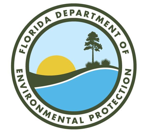 Florida Department of Environmental Protection logo.