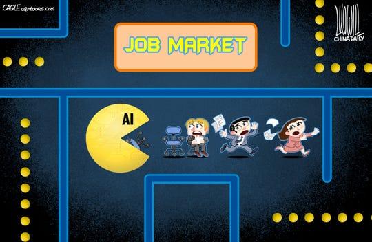 A.I. gobbles up jobs