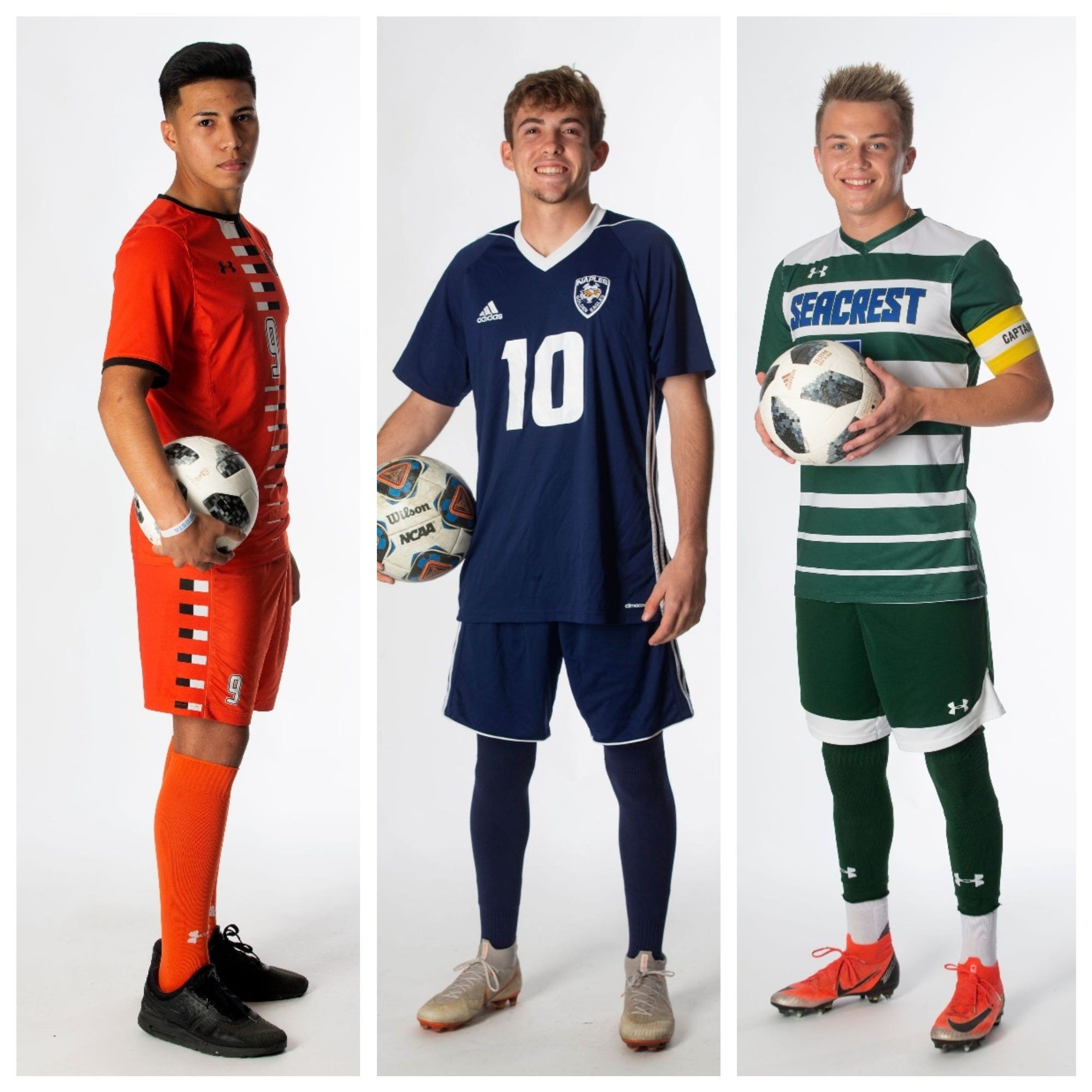 2019 Naples Daily News Boys Soccer All-Area Team