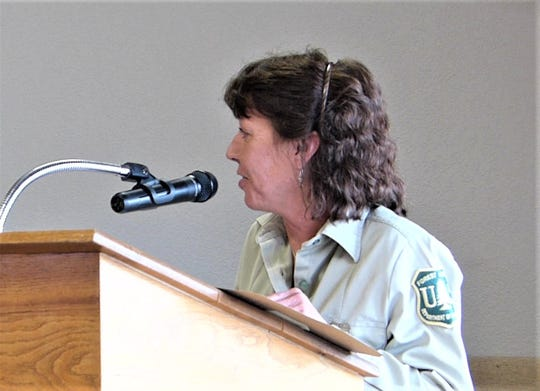 Smokey Bear District Ranger Jodie Canfield said work was set to resume on South Fork Campground July 1.