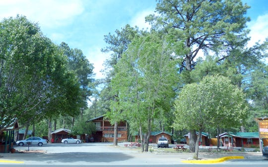 Tourist cabins and hotels already are established in midtown Ruidoso.