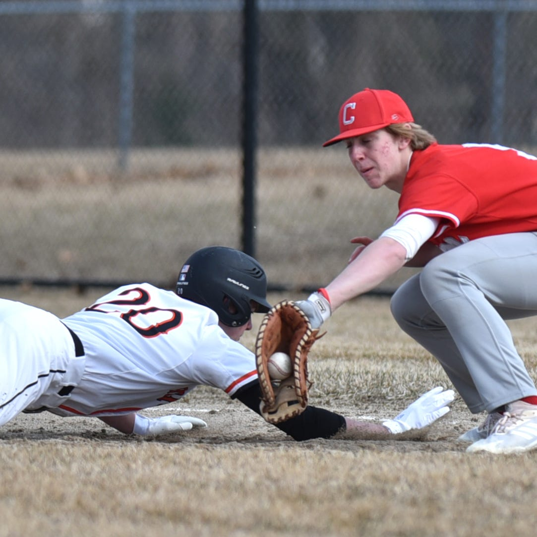Brighton baseball sweeps Canton in doubleheader