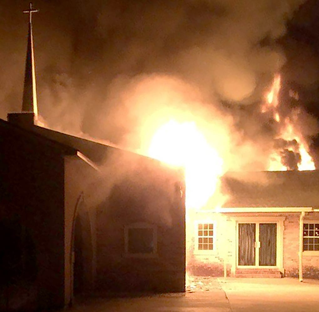 Fire marshal investigating fire at Opelousas church