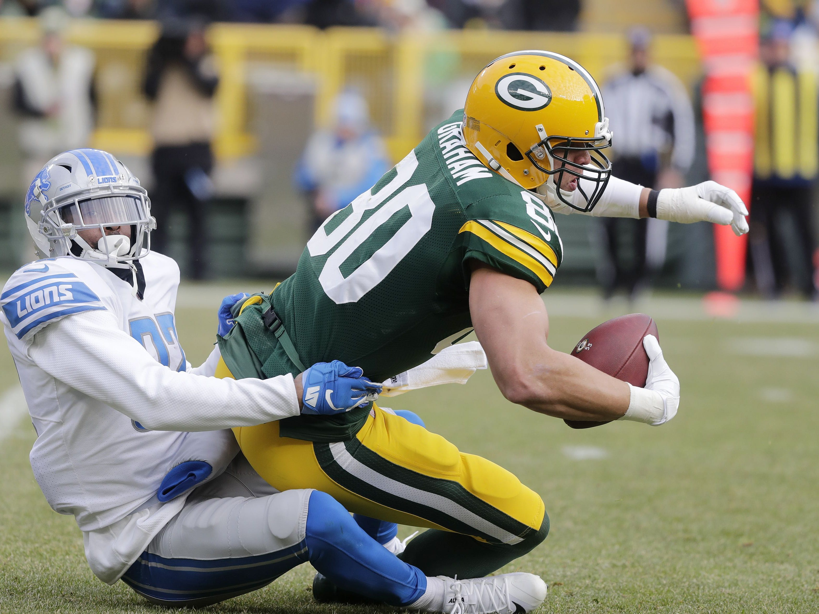 Week 6: Lions at Packers, 7:15 p.m. CT Monday, Oct. 14, Lambeau Field (ESPN)