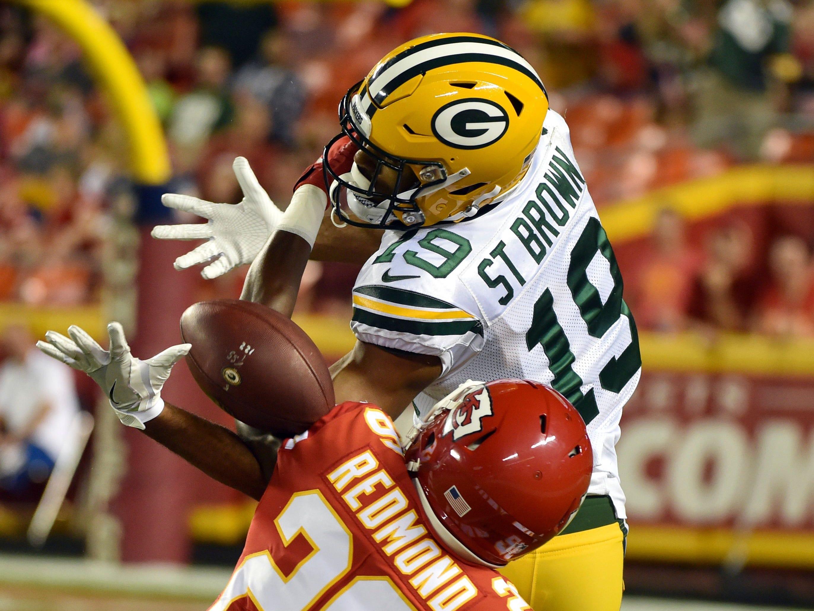 Week 8: Packers at Chiefs, 7:20 p.m. CT Sunday, Oct. 27, Arrowhead Stadium (NBC)