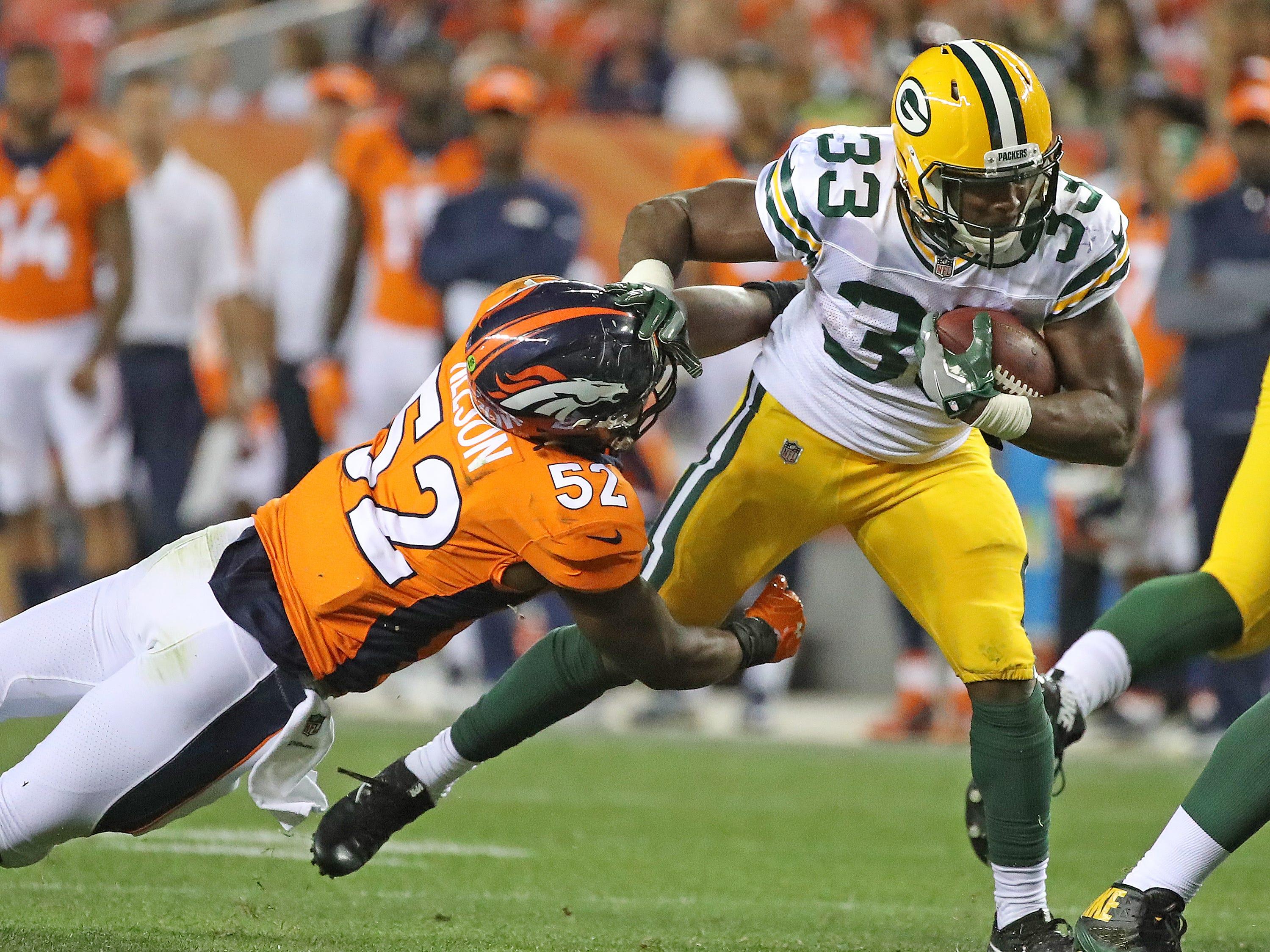 Week 3: Broncos at Packers, noon CT Sunday, Sept. 22, Lambeau Field (Fox)