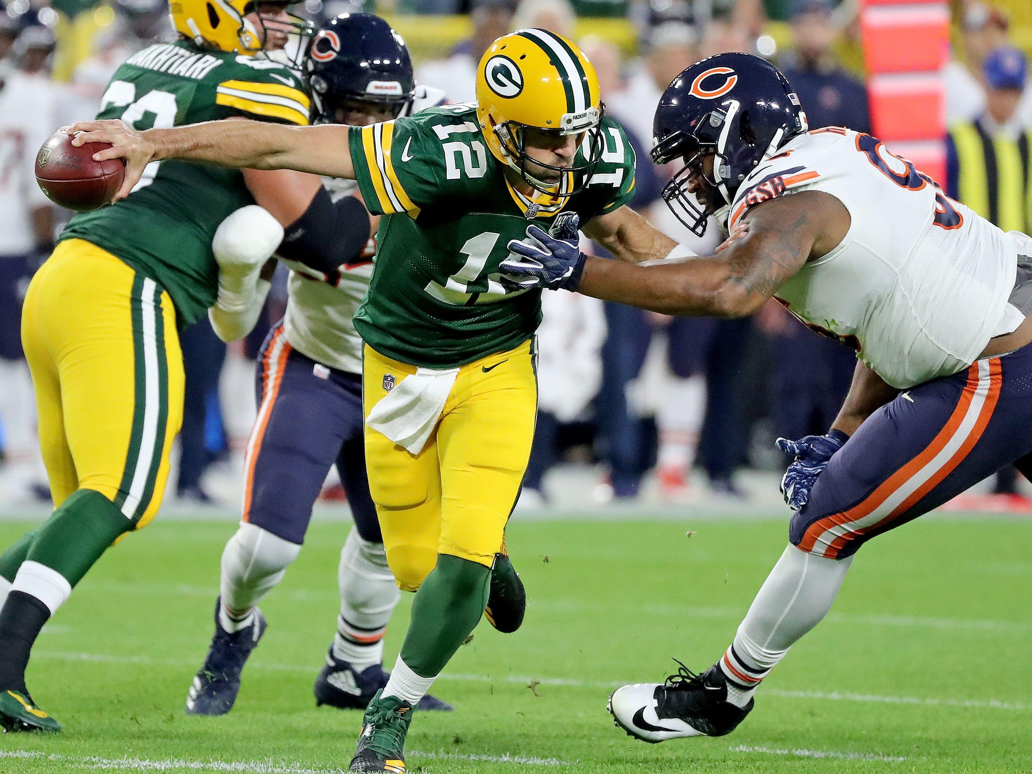 Week 15: Bears at Packers, noon CT Sunday, Dec. 15, Lambeau Field (Fox)