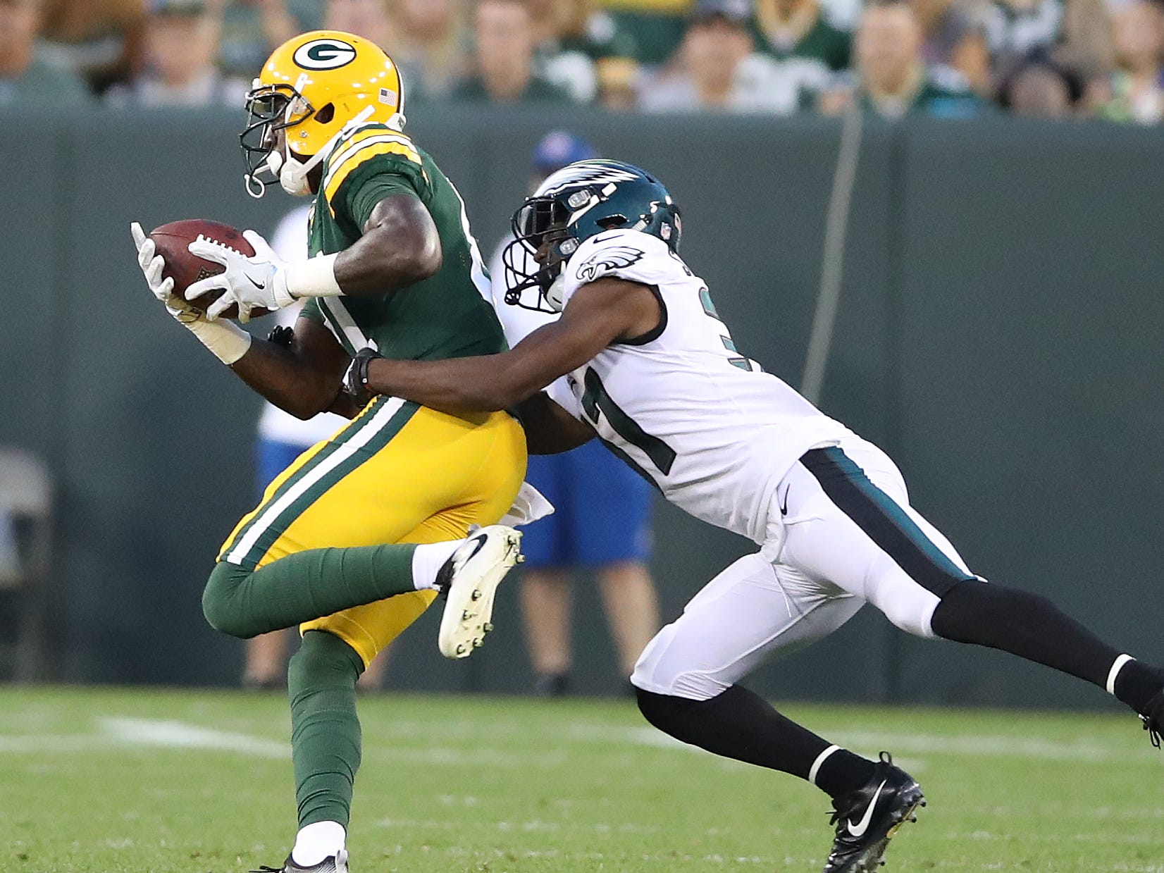 Week 4: Eagles at Packers, 7:20 p.m. CT Thursday, Sept. 26, Lambeau Field (Fox/NFL Network)