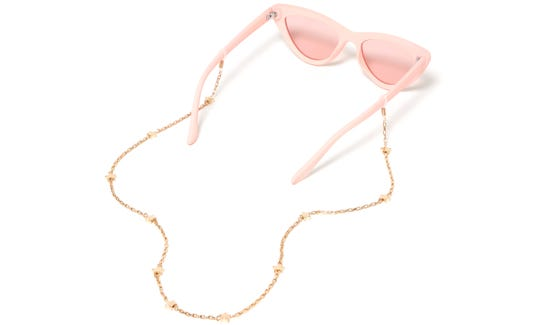 Sunglasses chains are making a comeback, so why not try some out for Coachella?