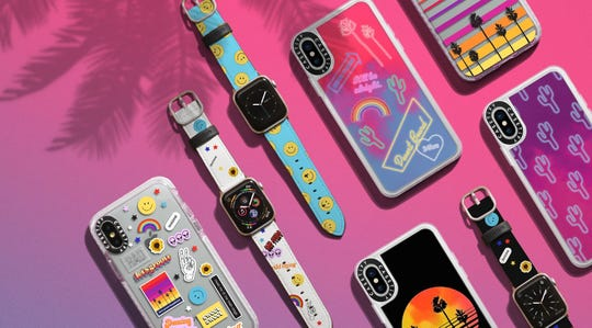 Casetify will be launching a special Coachella collection with bright colors and desert themes April 1.