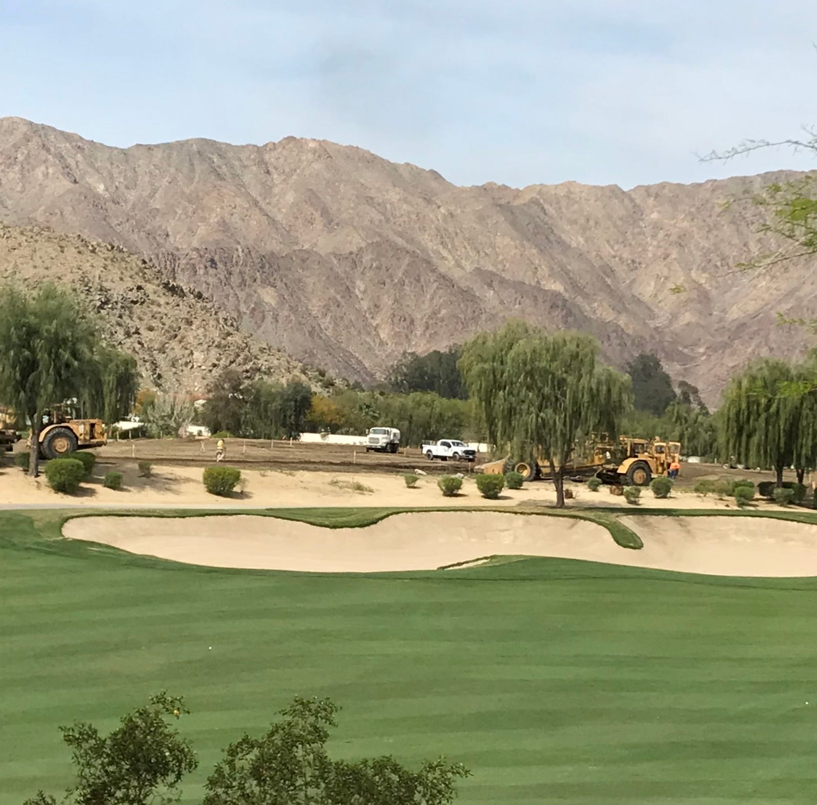 Construction work ramping up for La Quinta's SilverRock resort, future home of Montage International hotel brands