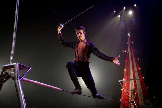 Aerialists are a popular component of the 50th anniversary celebration of Circus Vargas coming to Palm Desert this week.