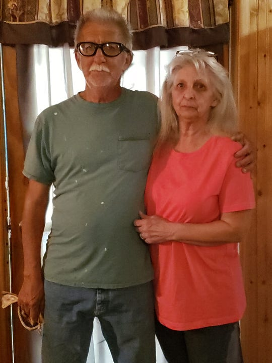 The brother and sister pair of Preston Davis Jr. and Linda Smith, taken shortly after an Escambia County jury found a nursing home negligent in its care of their mother, Bertha Davis.