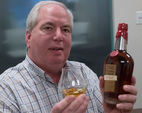 Mat Garretson, organizer of the Whiskey for Wings festival, stops by the Pensacola News Journal office on Tuesday, April 2, 2019, to promote the May event. The festival will spotlight premium whiskeys from around the world with proceeds going to charity.