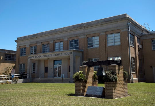 The Santa Rosa County Courthouse, which was built in 1927, is getting new digs on a 19-acre parcel of land about five miles down the road, on Avalon Boulevard. The courthouse has long been the anchor of Milton's growing downtown district.