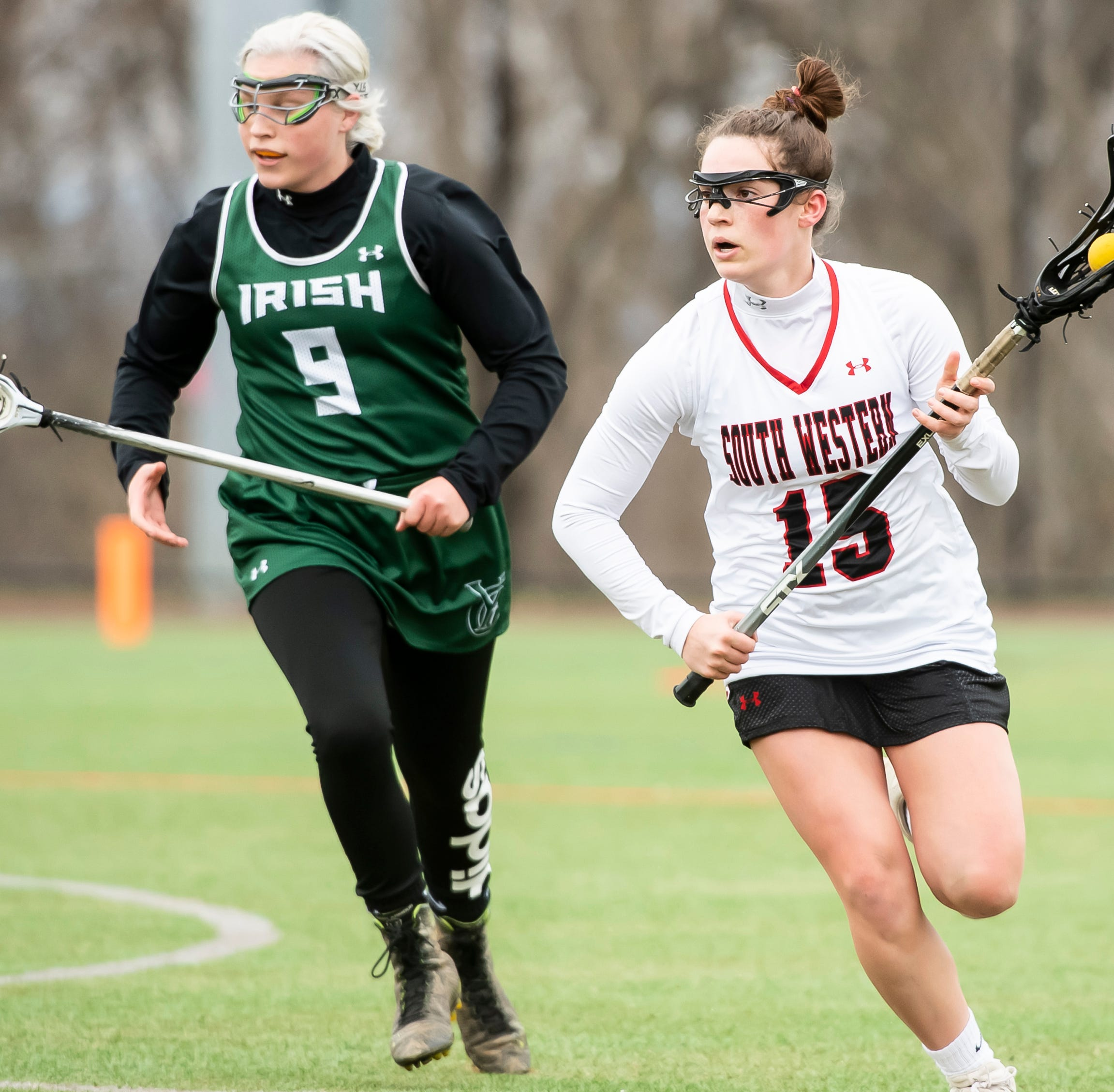 Top players named by league coaches in YAIAA girls' lacrosse