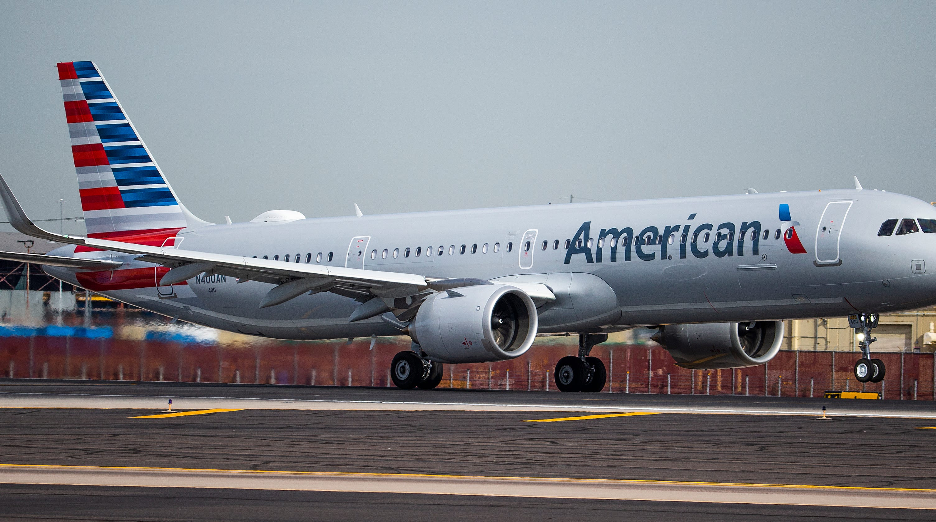 American Airlines Newest Jet The Airbus A321neo Debuts In Phoenix