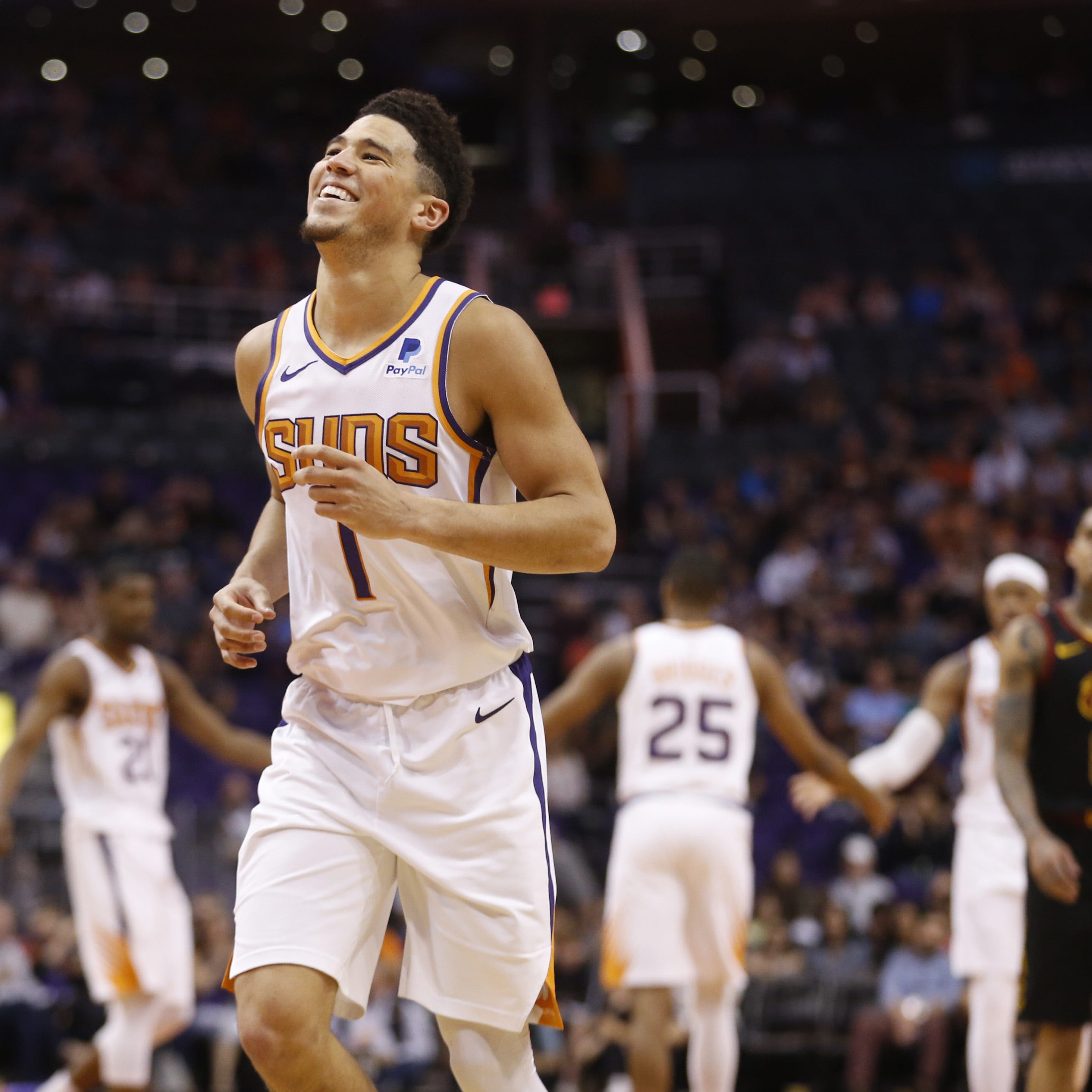 Devin Booker's playmaking leads way in Phoenix Suns' team win over Cleveland Cavaliers