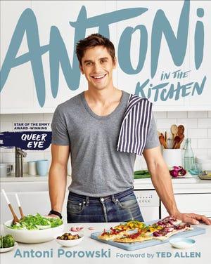 The cover of Antoni Porowski's new cookbook, 'Antoni In The Kitchen'