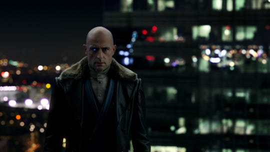 """Dr. Thaddeus Sivana (Mark Strong) is an industrialist possessed by the Seven Deadly Sins in """"Shazam!"""""""