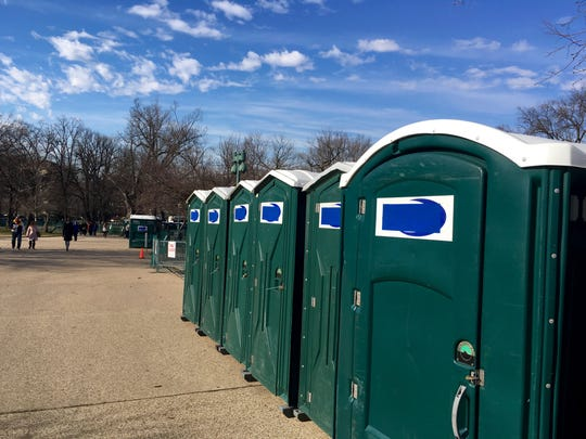 Country Thunder campers have the option of renting portable toilets starting at $140 plus taxes and fees.