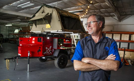 Dave Munsterman built a camp trailer just for himself, but every time someone saw it, they asked where they could get one. Eventually, he decided to turn it into a business.