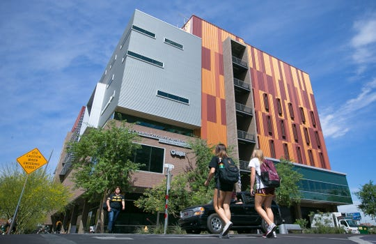 ASU's Walter Cronkite School of Journalism and Mass Communication in downtown Phoenix.