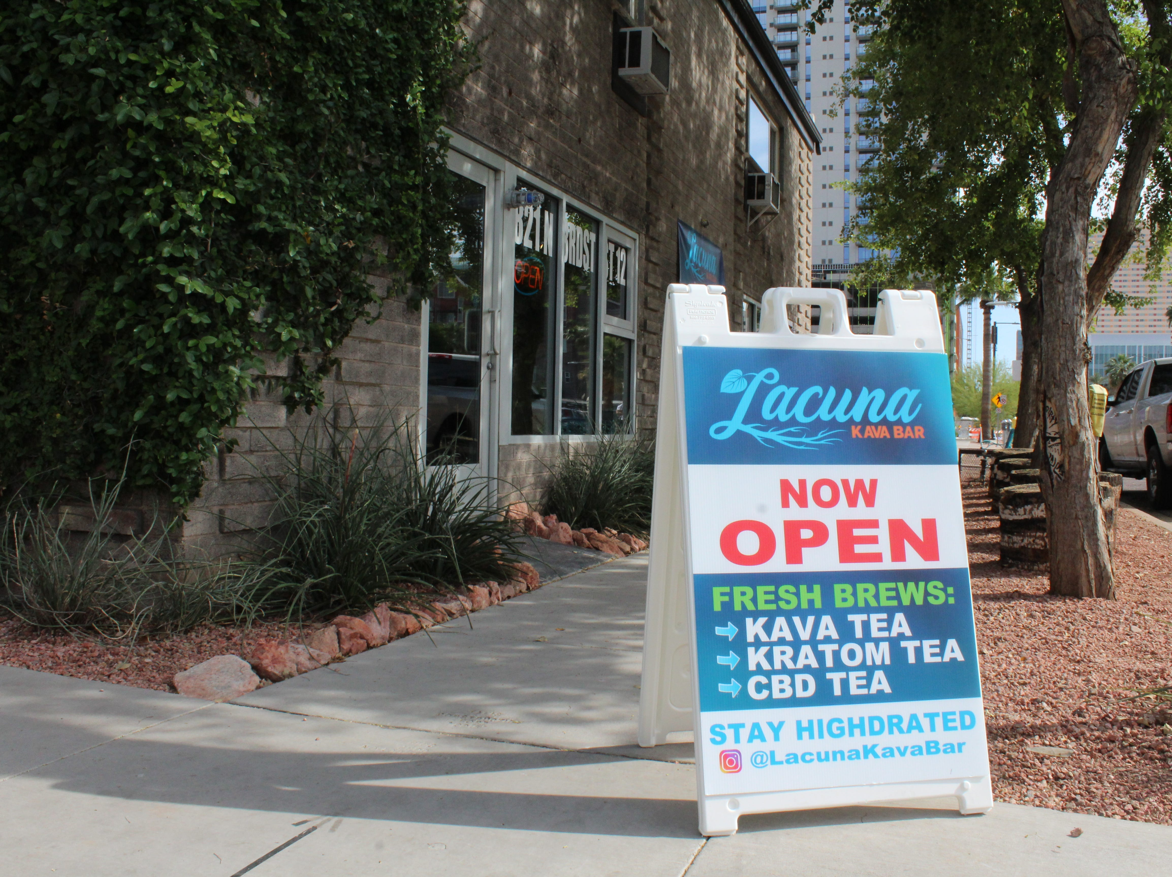 Lacuna Kava Bar in downtown Phoenix is located on 821 N. Third Street, Suite 12.
