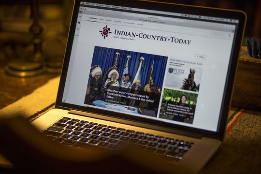 Historically, Indian Country Today has been a towering presence for Native American news.