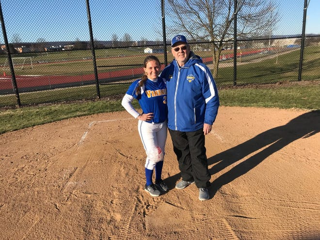 Softball is a family affair at Northern Lebanon, where head coach Ed Spittle guides a team that includes his granddaughter, junior second baseman Hannah Bashore.