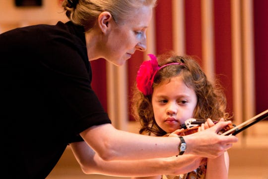 Helena Baillie's Mini String-Fest for children will be held April 7 at Starr Library in Rhinebeck.