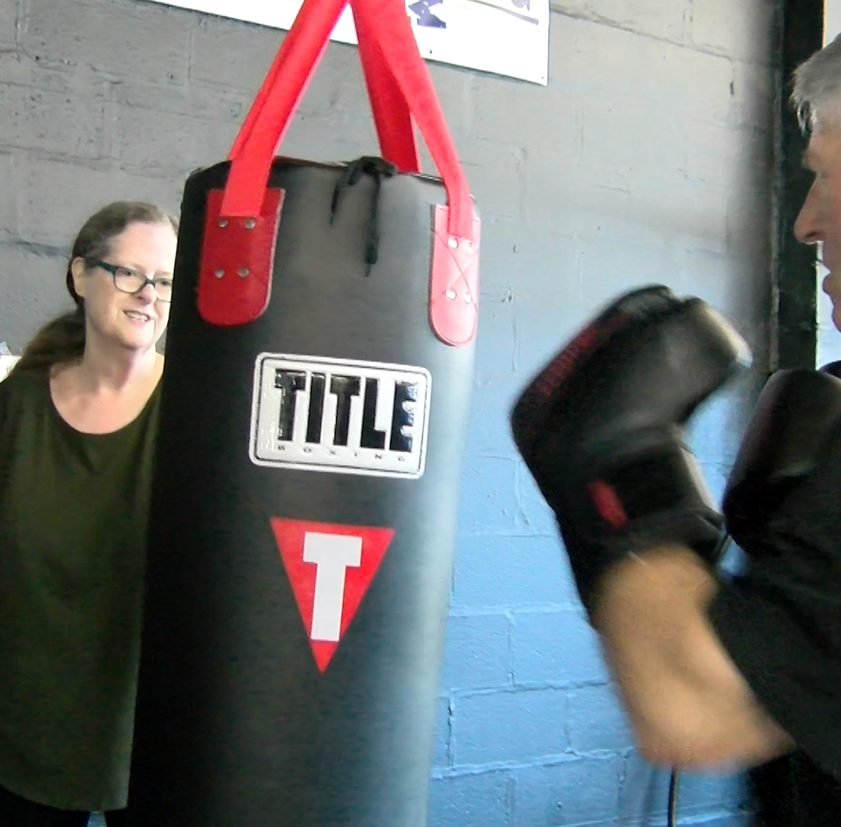 'When I'm hitting that bag I forget I have Parkinson's': Boxing punches back at disease
